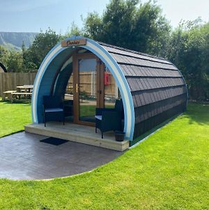 Benone Getaways- 'Dunluce' Luxury Glamping Pod- With Hot Tub photos Exterior