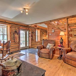 Spacious Cabin On 7 Private Acres In Athol! photos Exterior