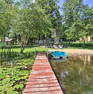 Waterfront Getaway With Beach, Paddle Boat, Fire Pit photos Exterior