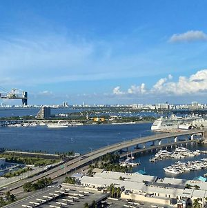 Best View Ever! Condo In Downtown Across The Miami Heat Stadium photos Exterior