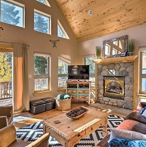Luxe Cabin With Hot Tub Ski, Mtn Bike And Hike! photos Exterior