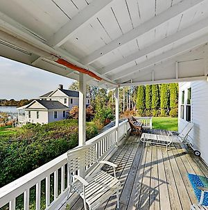 Classic Home On Hogdon Cove With Water-View Deck Home photos Exterior