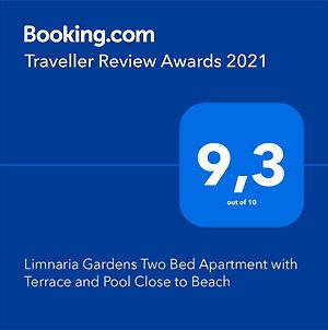 Limnaria Gardens Two Bed Apartment With Terrace And Pool Close To Beach photos Exterior