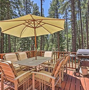 Wooded Prescott Cabin With Private Deck And Grill! photos Exterior