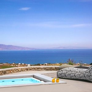 Luxury Cave Villa With Outdoor Hot Tub With Sea Sunset View photos Exterior