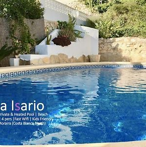 Charming Villa In Montemar With Private, Heated Pool And Sea Views photos Exterior