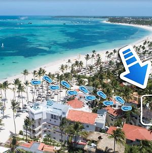 Deluxe Villa 6 Guests Garden View Bavaro Beach Wifi Bbq - Beach Club Access photos Exterior