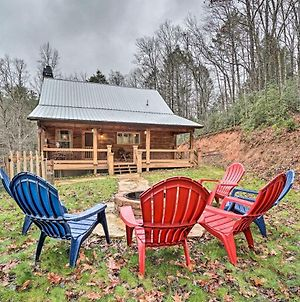 Private Blue Ridge Cabin With Hot Tub And Fire Pit! photos Exterior