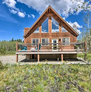Refined Fairplay Family Retreat With Deck And Grill photos Exterior