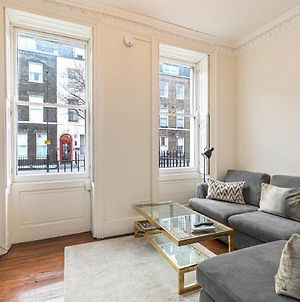 Homely 2-Bed Flat With Private Courtyard In Bloomsbury, Central London photos Exterior