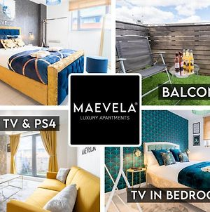 Maevela Apartments - Ultra Lavish Luxury 2 Bed Apartment City Centre - With Balcony - Free Secure Parking - Ps4 & Smart Tv'S photos Exterior