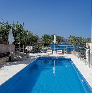 Thea Seaview Villa, With Private Pool & Close To Beach photos Exterior