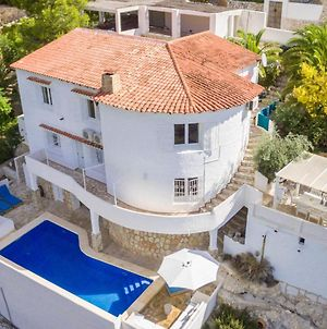 Ibiza-Style Villa In Moraira With Private Pool And Magnificent View photos Exterior