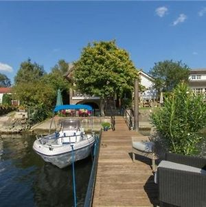 Waterfront Holiday Home In Veen With Terrace photos Exterior