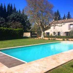 Farmhouse With Private Pool In The Countryside Of Plan D'Orgon In Provence, 8 Persons Ls1 365 Mignoun photos Exterior
