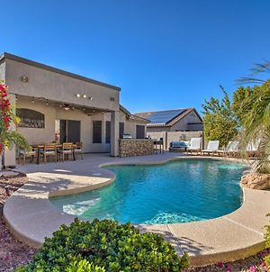 Warm Desert Oasis With Private Pool And Gas Fire Pit! photos Exterior