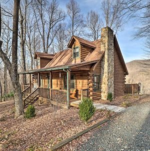 Chestnut Acres Cabin With Hot Tub And Mtn Views photos Exterior