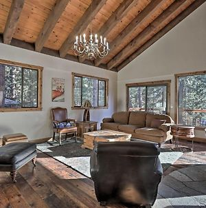 Expansive Tahoe Escape With Hot Tub Ski And Hike photos Exterior