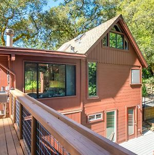 Tree Fort! Redwoods! Hot Tub!! Fire Table!! Google Smart Home!! Fast Wifi!! Dog Friendly! photos Exterior