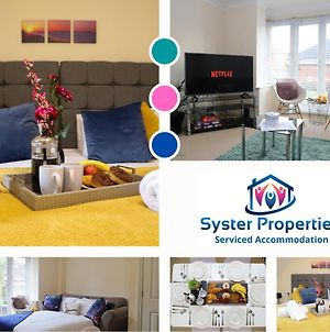 Syster Properties Serviced Accommodation Leicester - 3 Bedroom Welcoming Home photos Exterior