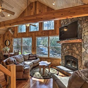 Creekside Cabin With Porch, Fireplace And Views! photos Exterior