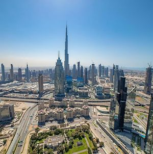 Fantastay Index Tower Iconic 2 Bedroom And Guest Burj Khalifa Views Best Tower In Difc photos Exterior