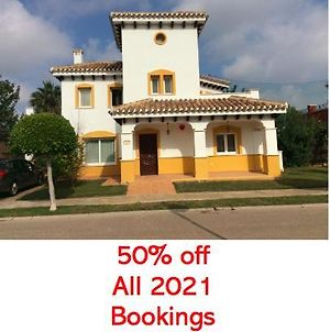 5 Bedroom Modern Villa, With Private Pool On Mar Menor Golf Resort, Bars And Restaurants Walking Distance, Ideal For Golfing Trip Or Families photos Exterior