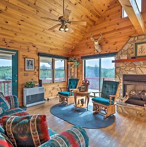 Cozy Mountain Cabin Wraparound Deck And Views! photos Exterior