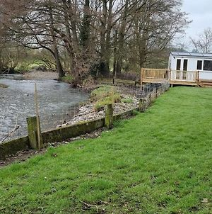 Lovely Riverside Cabin In Shropshire photos Exterior