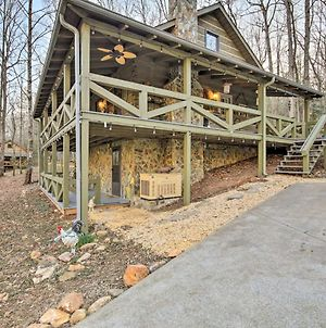 Charming Blue Ridge Cabin With Hot Tub And Grill! photos Exterior