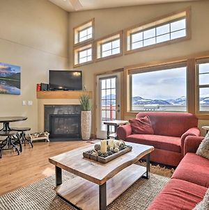 Top-Floor Condo With View, Steps To Ski Shuttle photos Exterior
