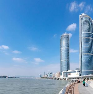 Xiamen Twin Tower Sea View Apartment photos Exterior