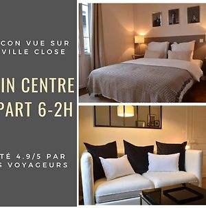 Appart 6-2H Centre Ville Concarneau, Vue Sur La Ville Close. photos Exterior