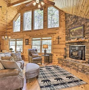 Cozy Blue Ridge Cabin With Deck And Trail Access! photos Exterior
