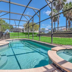 Large Pool Area And Game Room! 4Bd Home Close To Disney! #4Wh633 photos Exterior