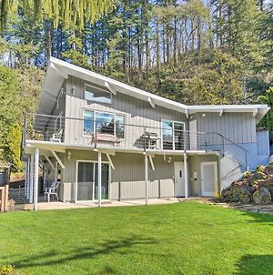 Waterfront Hideaway With Sandy River Fishing! photos Exterior