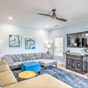 Brand New Bright Beach Home With Ac 4 Blks To Ocean photos Exterior