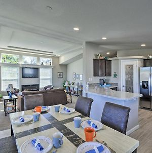 Ocean Shores Retreat With Porch And Canal Views! photos Exterior