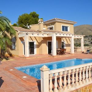 House With 4 Bedrooms In El Campello With Wonderful Sea View Private Pool Enclosed Garden 800 M From The Beach photos Exterior