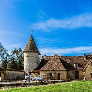 Historic Castle In Le Veurdre With Swimming Pool, Billiards photos Exterior