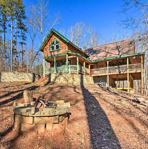 Wood Cabin With Fire Pit, 5 Mi To Lake Hartwell photos Exterior
