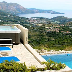 Luxury Villa Fig With Pool And Jacuzzi Near Dubrovnik photos Exterior