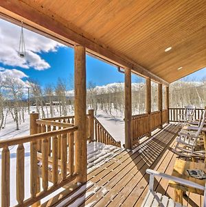 Inviting Lodge In Fairplay With Private Deck! photos Exterior