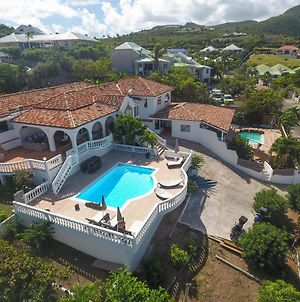 Villa With 5 Bedrooms In Saint Martin With Wonderful Sea View Private Pool And Terrace 500 M From The Beach photos Exterior