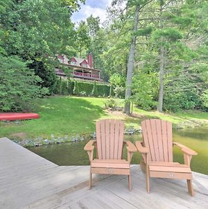 Upscale Hendersonville Lake Apt Dock, Deck And View photos Exterior