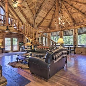 Redwood Cabin With 2 Acres, Fire Pit, Hot Tub photos Exterior