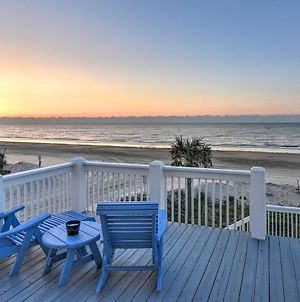 Oceanfront Crystal Beach Haven View And Decks! photos Exterior