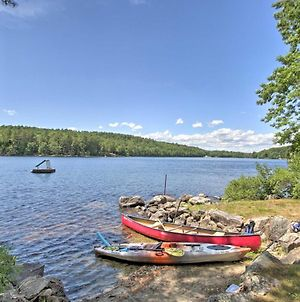 Maine Lake Country Home Pond And Water Crafts! photos Exterior