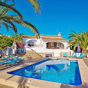 Paula 3 Holiday Home With Private Swimming Pool In Moraira photos Exterior