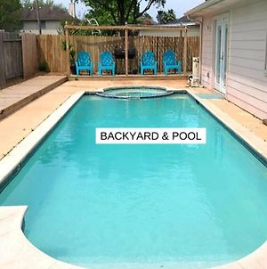 Pool House, 9 Beds In Tomball 30 Mins From Downtown - Lundar photos Exterior
